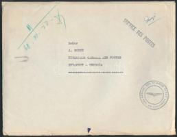 Official Airmail to Hungary (Budapest), Hivatalos légi levél Budapestre