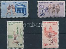 1972 Nyári olimpia sor Mi 331-334