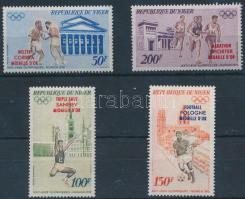 1972 Nyári olimpia sor Mi 348-351