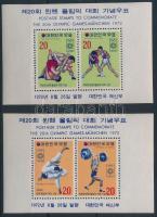 1972 Nyári olimpia blokkpár Mi 354-355
