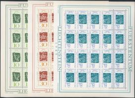 1965 Ferdinand Nigg grafikái kisívsor Mi 455-457
