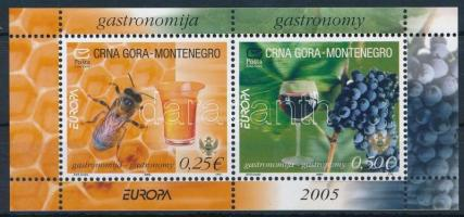 2005 Europa CEPT: Gasztronómia blokk Mi 1