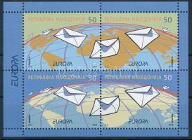 2008 Europa CEPT: Levél bélyegfüzetlap Mi H-Blatt 1
