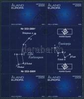 2009 Europa CEPT: Csillagászat ívszéli ívközéprészes négyestömb Mi 310