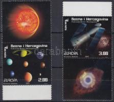 2009 Europa CEPT: Csillagászat ívszéli szelvényes sor Mi 541-542