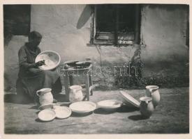 cca 1930 Kerny István (1879-1963) pecséttel jelzett vintage fotóművészeti alkotása, 16,5x23 cm