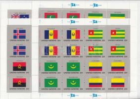 Flags (VII) minisheet set, Zászlók (VII.) kisív sor
