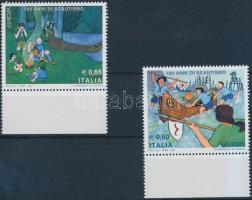2007 Europa CEPT: Cserkész ívszéli sor Mi 3176-3177