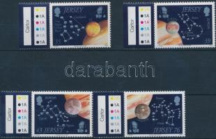 2009 Europa CEPT: Csillagászat ívszéli sor Mi 1394-1397