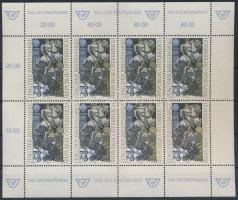 Stamp Day minisheet, Bélyegnap szélvényes bélyeg