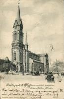 1899 Budapest IX. Ferencvárosi templom