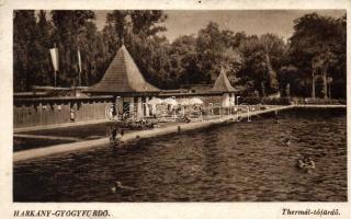 Harkány-gyógyfürdő, Thermál tófürdő