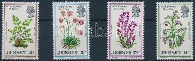 1972 Vadvirágok sor Mi 61-64
