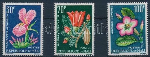 1963 Virágok sor Mi 78-80
