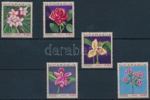 1967 Virág sor Mi 1454-1458