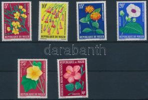 1964 Virágok sor Mi 61-66