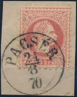 """""""PACSÉR"""" Austria-Hungary-Serbia postmark """"PACSÉR"""""""