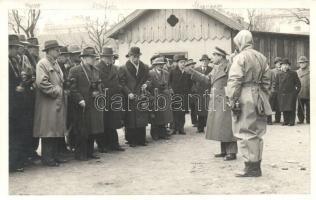 1937 Német légvédelmi tanfolyam, fotó, 1937 Luftschutzkurs / German military air protection course, photo
