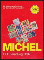 MICHEL CEPT katalógus 2007