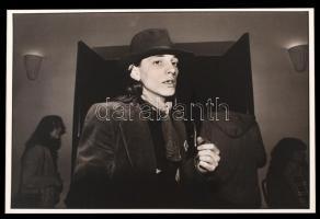 cca 1980 Baricz Katalin: Williem, aláírt vintage fotóművészeti alkotás, 26x39 cm