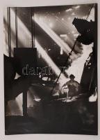 cca 1970 Zsigri Oszkár: Csepel, aláírt vintage fotóművészeti alkotás, 40x29 cm