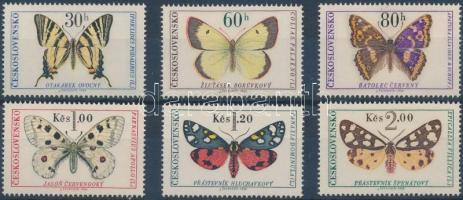 Lepkék sor, Butterflies set