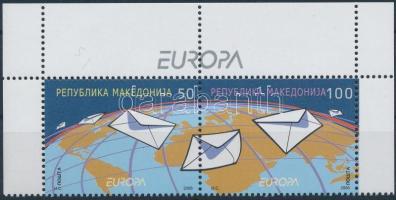 2008 Europa CEPT: Levelezés ívsarki pár Mi 458-459