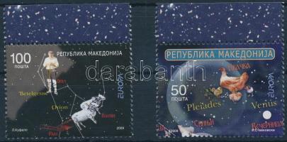 2009 Europa CEPT: Csillagászat ívszéli sor Mi 502-503