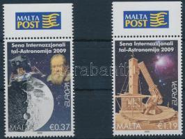 2009 Europa CEPT: Csillagászat ívszéli sor Mi 1594-1595