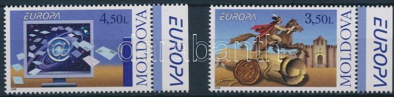 2008 Europa CEPT: Levelezés ívszéli sor Mi 611-612