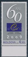 2009 60 éves az Európa Tanács ívszéli bélyeg Mi 649