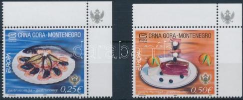 2005 Europa CEPT: Gasztronómia ívsarki sor Mi 104-105 IA