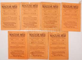 1941 Magyar méh. Az Országos Magyar Méhészeti Egyesület hivatalos közlönye. 6 szám az évfolyamból.