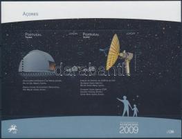 Europa CEPT: Astronomy block, Europa CEPT: Csillagászat blokk