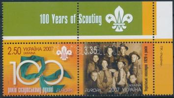 Europa CEPT: Scouts corner pair, Europa CEPT: Cserkész ívsarki pár