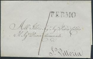 1844 Levél FERMO - S. Vittoria