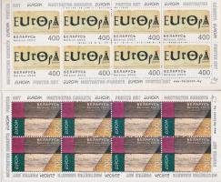 Europa CEPT, Plakátművészet 2 db bélyegfüzet, Europa CEPT, Poster Art 2 stampbooklets