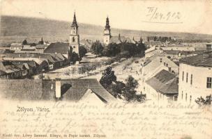 Zólyom, Zvolen; templomok / churches (EK)