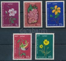 1965 Virág sor Mi 495-499