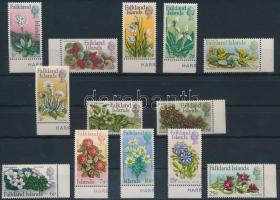 Flower set (closing value missing), Virág sor (hiányzik a záróérték)