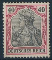1902 Germania Mi 75 (Mi EUR 400.-) (kis papírelvékonyodás / thin paper)