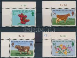 1970 Mezőgazdaság ívsarki sor Mi 31-34