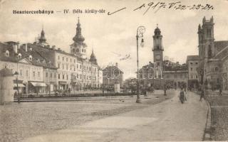 Banská Bystrica, square, Besztercebánya, IV. Béla király tér