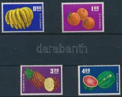 1964 Gyümölcs sor Mi 536-539