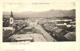Sighetu Marmatiei, church, street, Máramarossziget, Sighetu Marmatiei; templom, utca