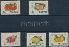 1961 Gyümölcs sor Mi 311-315