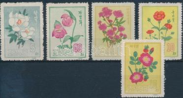 1963 Virág sor Mi 456-460