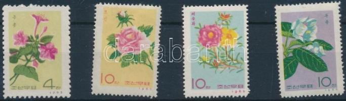 1965 Virág sor Mi 656-659