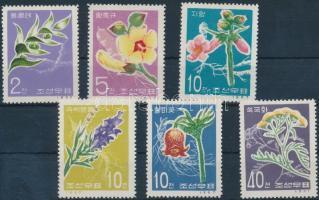 1967 Virág sor Mi 792-797 A