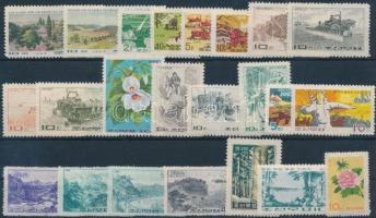 North Korea  1962-1973 6 sets + 4 individual values, Észak-Korea 1962-1973 6 klf sor + 4 klf önálló érték